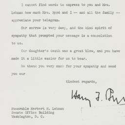 Letter : 1952 March 26