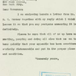 Letter : 1930 April 15