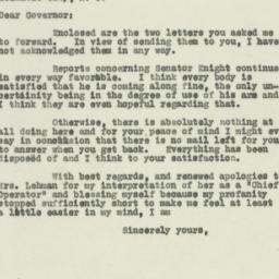 Letter : 1930 April 25