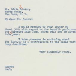 Letter : 1942 April 3