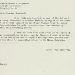 Letter: 1950 August 26