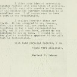 Letter : 1953 February 11