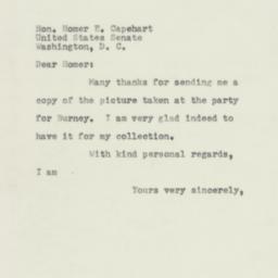 Letter : 1953 April 28