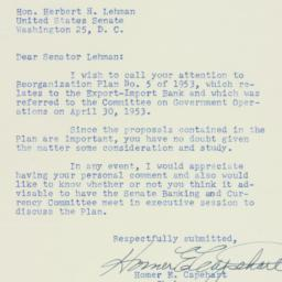 Letter : 1953 May 22