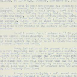 Letter : 1953 August 21