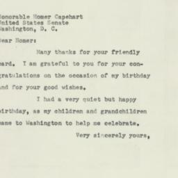 Letter: 1954 March 31