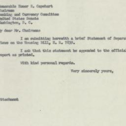 Letter: 1954 June 2