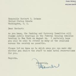 Letter: 1954 August 11