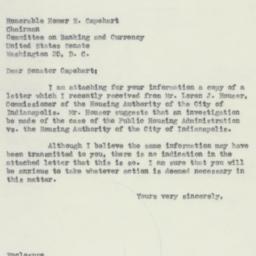 Letter: 1954 November 29