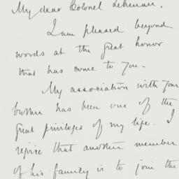 Letter : 1928 October 2