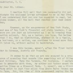 Letter : 1950 May 25