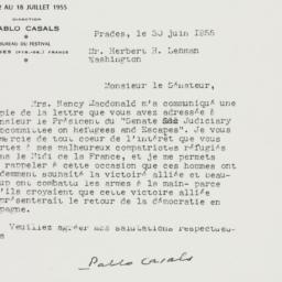 Letter : 1955 June 30