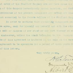 Letter : 1907 August 30