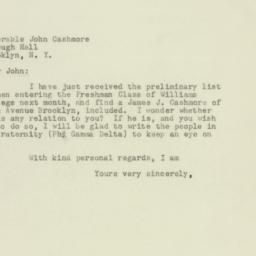 Letter : 1949 August 25