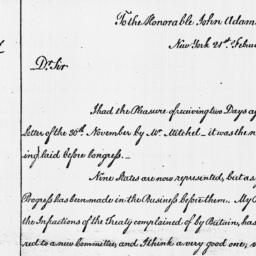 Document, 1787 February 21