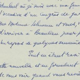 Letter : 1953 September 6