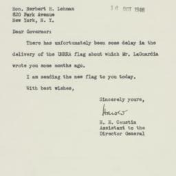Letter : 1946 October 16