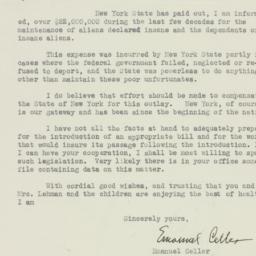Letter : 1933 August 19