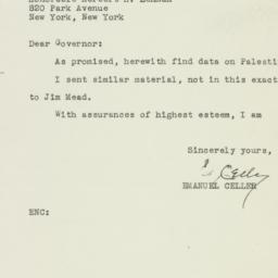 Letter : 1946 September 25