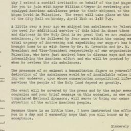 Letter : 1947 April 9