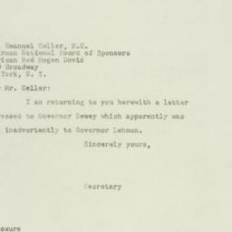 Letter : 1948 August 23