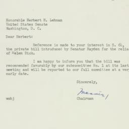 Letter: 1952 January 3