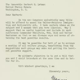 Letter: 1952 December 23