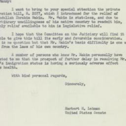 Letter : 1956 July 19