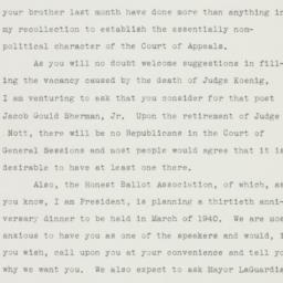 Letter : 1939 December 5