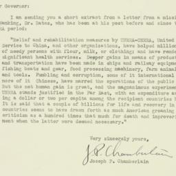 Letter : 1947 April 7