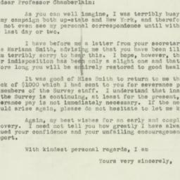 Letter : 1950 November 13