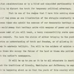 Speech: 1938 June 10