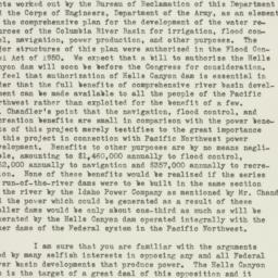 Letter: 1951 July 24