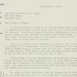 Letter : 1946 September 27
