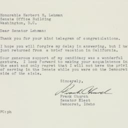 Letter : 1956 November 20
