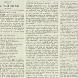 Speech : 1958 May 5
