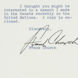 Letter : 1962 April 10