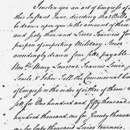Document, 1779 June 09