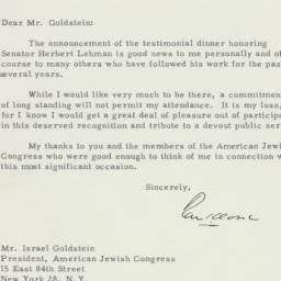 Letter : 1955 April 27