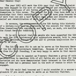 Letter : 1962 June 27