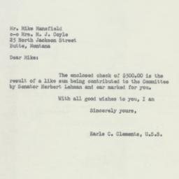 Letter: 1952 October 3