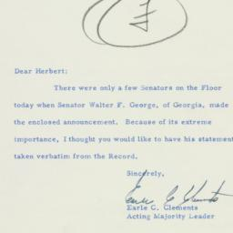 Letter: 1956 February 14