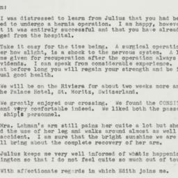 Letter : 1958 July 5