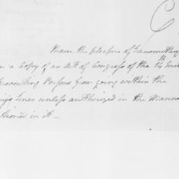 Document, 1779 April 18
