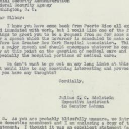 Letter : 1950 May 2