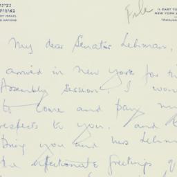 Letter : 1959 September 25