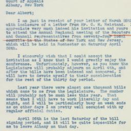 Letter : 1941 March 30