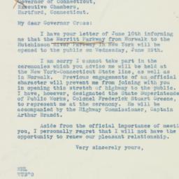 Letter : 1938 June 15