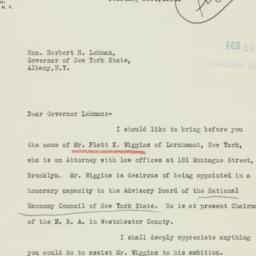 Letter: 1934 February 23