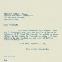 Letter : 1934 April 24